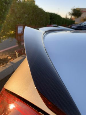 G37 Carbon fiber Wing or Q60 Coupe for Sale in Modesto, CA