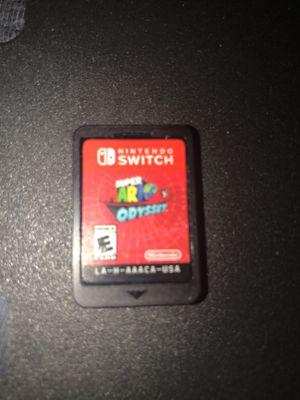 Super Mario Odyssey Nintendo switch for Sale in Boston, MA