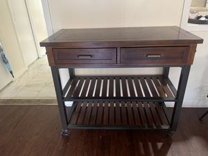 Rolling Kitchen Island for Sale in Houston, TX