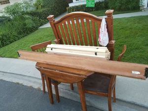 Free!!! dinning table from Ashley's furniture and twin bed frame for Sale in Mission Viejo, CA
