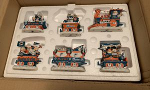 Miami Dolphins Danbury Mint Christmas Express Train Set for Sale in Medley, FL