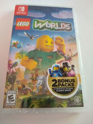 Lego World's for Nintendo Switch Brand New and Sealed for Sale in Sunnyvale, CA