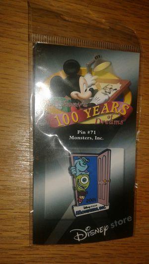 Disney Pixar Monsters inc pin for Sale in Lynnwood, WA