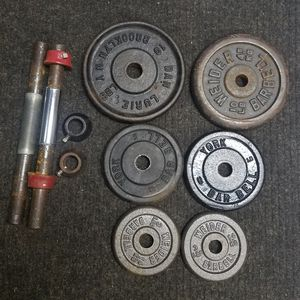 Bundle of Weights + Bars for Sale in Sterling Heights, MI