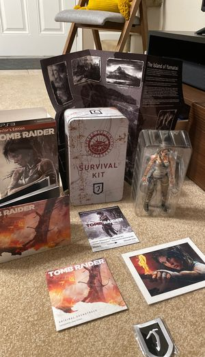 Tomb Raider (Collector's Edition) - PS3 for Sale in Bloomington, IL