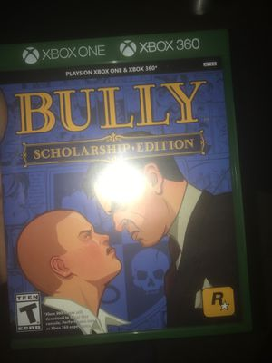 Brand new Xbox one Xbox 360 game bully for Sale in Rancho Cucamonga, CA