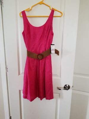 Pink Summe dress- Size petite 6 for Sale in Dublin, OH