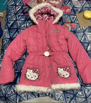 Hello kitty winter jackets size 10-12 for Sale in Carrollton, TX