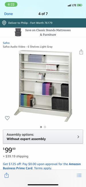 Adjustable metal shelves brand new in box for Sale in Fort Worth, TX