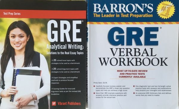 GRE Verbal and Writing Prep Materials