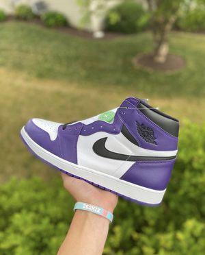 Jordan 1 Court Purple 2.0 for Sale in Maitland, FL
