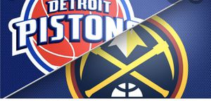 4 tickets Pistons at Nuggets for Sale in Thornton, CO
