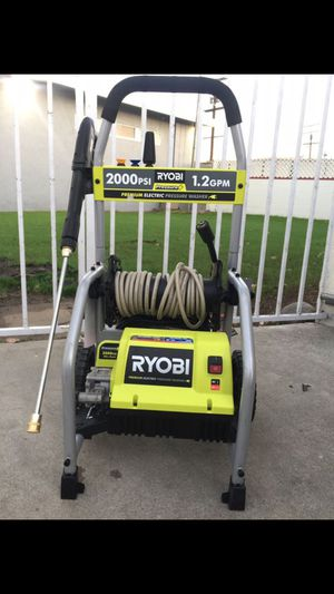 Ryobi pressure washer 2,000 psi for Sale in Long Beach, CA