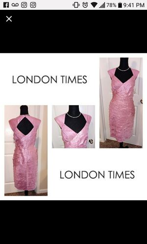 London Times Blush pink cocktail dress Sz 8 for Sale in Wake Forest, NC