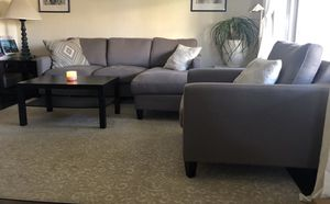 Couch and side chair for Sale in Portland, OR