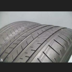 Pair 245 40 21 Bridgestone Alenza 001 RSC Run Flat w/65% Tread 5/32 100Y #8234 for Sale in Miami, FL