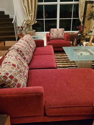 Custom couch and chair. for Sale in Davie, FL