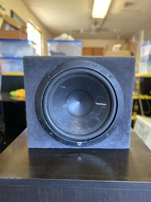 Rockford Fosgate P1 Punch w/Cabinet for Sale in Madera, CA