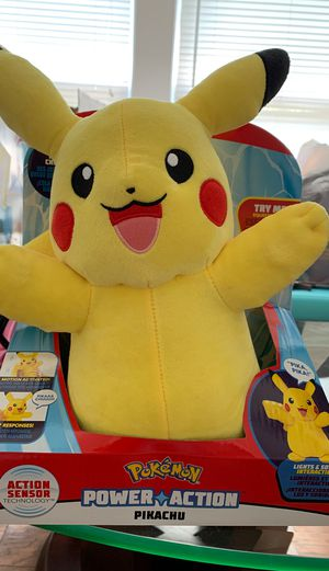 Power action Pikachu Plushie for Sale in Dallas, TX