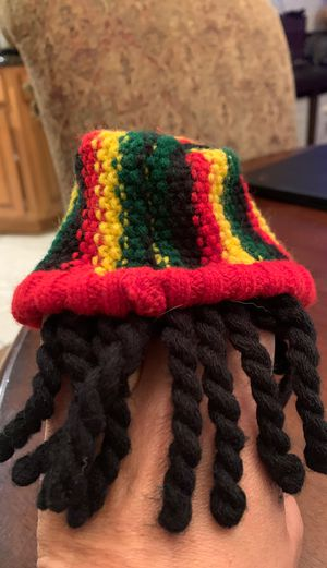 Bob Marley beanie with dreadlocks for small dog size S/M for Sale in West Covina, CA