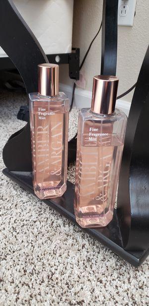 AMBER & ARGEN fine fragrance mist for Sale in Lake Elsinore, CA