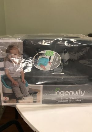 Ingenuity smart clean toddler booster for Sale in Santa Monica, CA