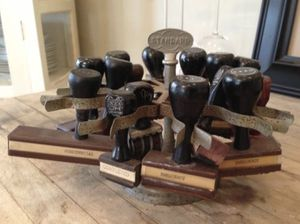 Standard Rubber Stamps + Holder for Sale in Chicago, IL