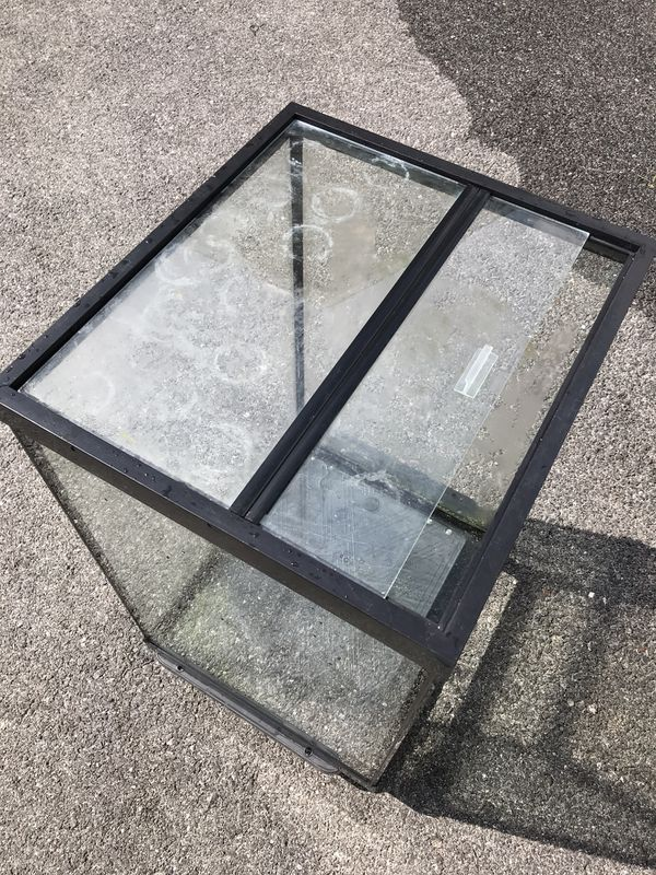Fish And Reptiles tank for sale