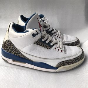 "Nike Mens Air Jordan 3 Retro ""True Blue"" Size 11 136064-104 for Sale in Atlanta, GA"