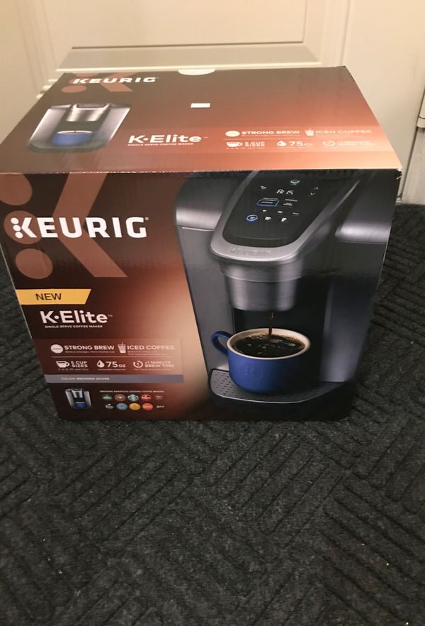 Keurig K-Elite coffee brewer