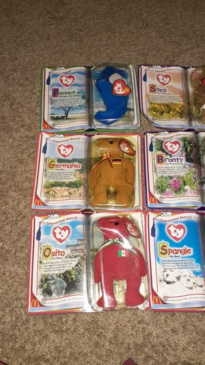 Ty beanie babies for Sale in Summerville, SC