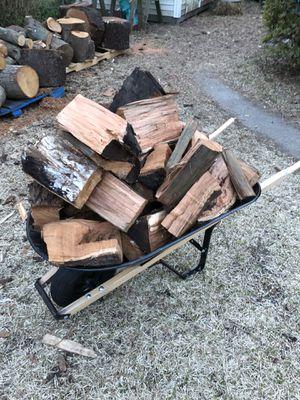 Seasoned Cherry Firewood for Sale in Chesapeake, VA