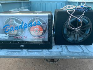"Band pass 10's and Rockville 12"" for Sale in Apache Junction, AZ"