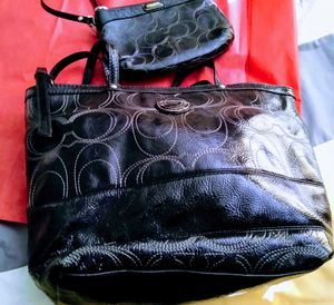 Coach Embossed Parent leacher set for Sale in Lakeland, FL