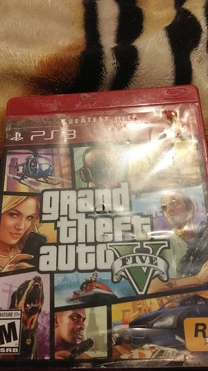 Ps3 GTA 5 for Sale in Tucson, AZ