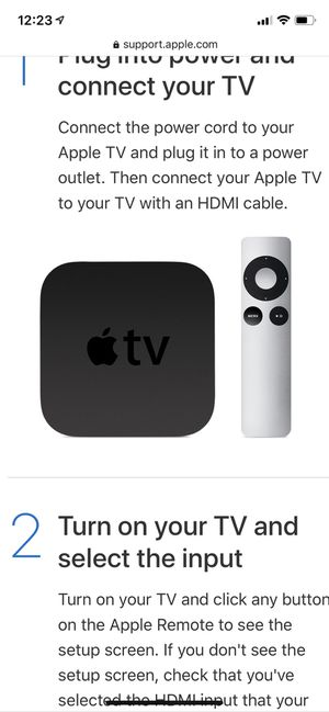 Apple TV 32 GB 3rd generation for Sale in New York, NY
