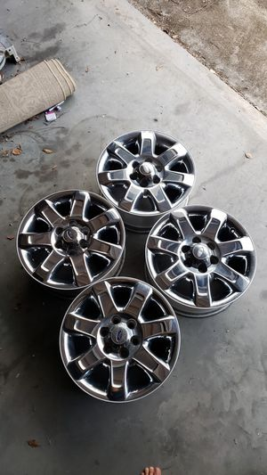Set of 4 2013-2014 Ford F150 chrome rims rim wheels wheel for Sale in GRANT VLKRIA, FL
