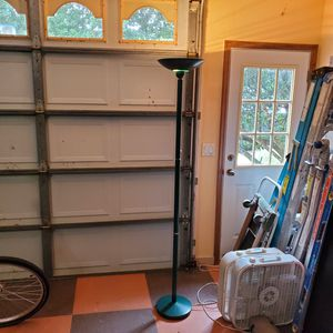 Green Art Deco Hallogen Floor Lamp for Sale in Spring Hill, FL