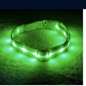 "Led Nylon Collar Size S And L 14""-17"" (sold Individually) for Sale in Hollywood, FL"