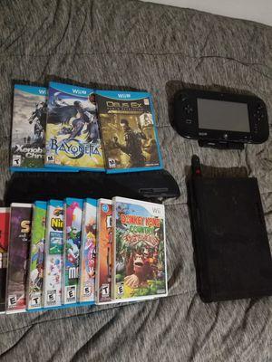 Nintendo Wii U 32GB + accessories for Sale in Salt Lake City, UT