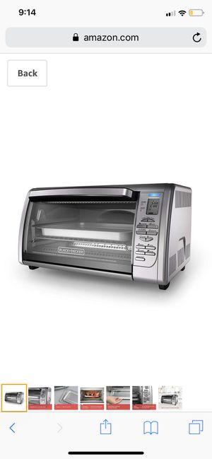 Black&decker countertop oven for Sale in Riverside, CA
