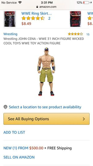 John cena 31 inch for Sale in Commerce City, CO