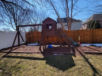 Free Swingset/playhouse for Sale in Elmhurst,  IL
