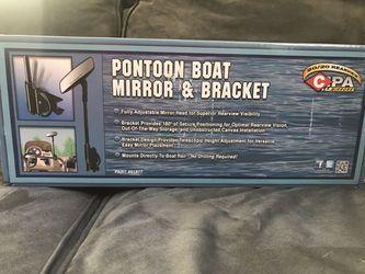 Pontoon Boat Mirror & Bracket for Sale in Beaverdam,  VA