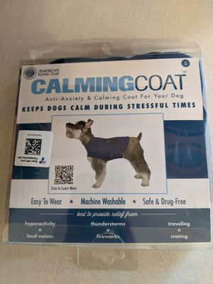Size Small calming coat for Sale in South Attleboro, MA
