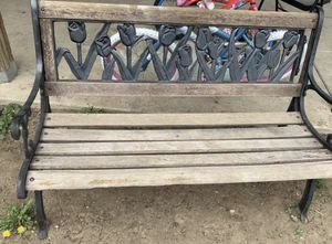 Cast Iron bench for Sale in Denver, CO