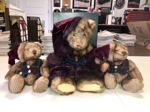 CHRISTMAS TEDDY BEAR SET for Sale in Bradenton, FL