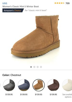 UGG CLASSIC MINI BOOT SAND SIZE 6 NEW *UGG SALE* for Sale in Artesia, CA