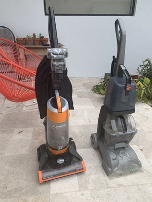 Hoover vacuum and deep cleaner— Make me an offer for Sale in Miami Beach, FL