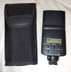 Sony External Camera Flash for Sale in Denver, CO